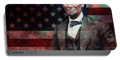American President Abraham Lincoln 01 Portable Battery Charger by Gull G