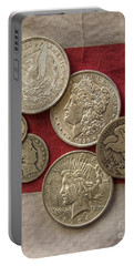 American Silver Coins Portable Battery Charger