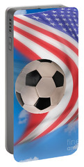 American Soccer. Portable Battery Charger