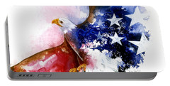 American Spirit Portable Battery Charger by Sherry Shipley