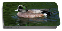 American Wigeon Anas Americana Duck Portable Battery Charger
