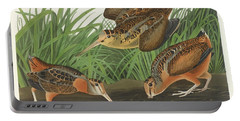 American Woodcock Portable Battery Charger by John James