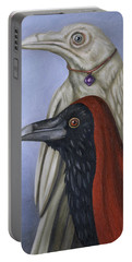 Amethyst Portable Battery Charger by Leah Saulnier The Painting Maniac