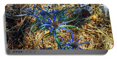 Amethyst Sea Holly Portable Battery Charger