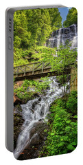 Portable Battery Charger featuring the photograph Amicalola Falls Top To Bottom by Debra and Dave Vanderlaan