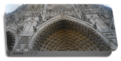 Portable Battery Charger featuring the photograph Amiens Cathedral by Therese Alcorn