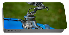 Amilcar Pegasus Emblem Portable Battery Charger by Adrian Evans