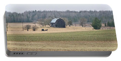 Portable Battery Charger featuring the photograph Amish Country 0754 by Michael Peychich