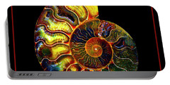 Ammonite Fossil - 8322-3 Portable Battery Charger