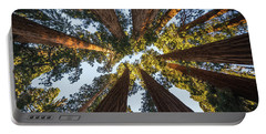 Amongst The Giant Sequoias Portable Battery Charger