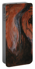 Portable Battery Charger featuring the painting Amongst The Shades by Christophe Ennis