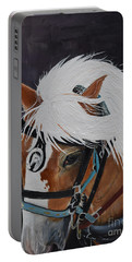 Amos - Haflinger - Horse Portable Battery Charger