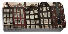 Amsterdam Architectre At Twilight Portable Battery Charger
