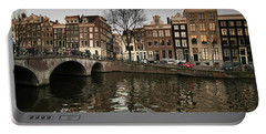 Amsterdam Canal Bridge Portable Battery Charger