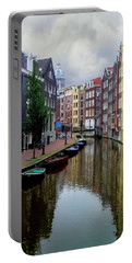 Amsterdam Portable Battery Charger by Heather Applegate