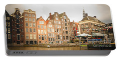 Portable Battery Charger featuring the photograph Amsterdam Scene by Therese Alcorn