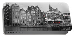 Portable Battery Charger featuring the photograph Amsterdam by Therese Alcorn