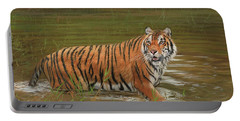 Amur Tiger Cooling Off Portable Battery Charger