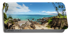 Portable Battery Charger featuring the photograph Amzing Beach In Hawaii Islands by Micah May