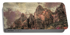 Portable Battery Charger featuring the photograph An Abstract Of Zion by John M Bailey