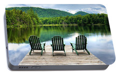 Portable Battery Charger featuring the photograph An Adirondack Panorama by David Patterson