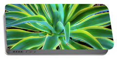 An Agave In Color  Portable Battery Charger