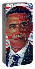 An American President Portable Battery Charger