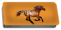 An Appaloosa Called Ginger Portable Battery Charger