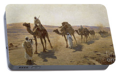 An Arab Caravan Portable Battery Charger by Ludwig Hans Fischer