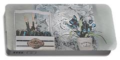 An Artist's Shelf Portable Battery Charger