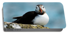 An Atlantic Puffin Portable Battery Charger