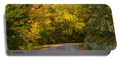An Autumn Landscape - Hdr 2  Portable Battery Charger by Andrea Mazzocchetti