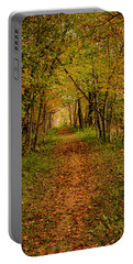 An Autumn's Walk Portable Battery Charger
