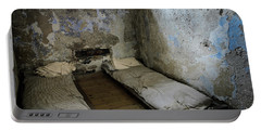 Portable Battery Charger featuring the photograph An Empty Cell In Cork City Gaol by RicardMN Photography