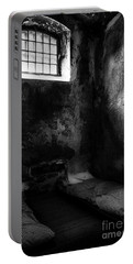 Portable Battery Charger featuring the photograph An Empty Cell In Old Cork City Gaol by RicardMN Photography
