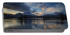 Portable Battery Charger featuring the photograph An Evening At Sparks Lake by Lynn Hopwood