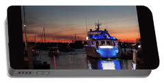 Portable Battery Charger featuring the photograph An Evening In Newport Rhode Island II by Suzanne Gaff