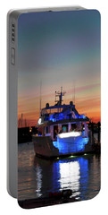Portable Battery Charger featuring the photograph An Evening In Newport Rhode Island IIi by Suzanne Gaff