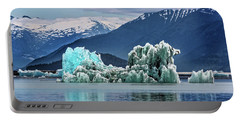 An Iceberg In The Inside Passage Of Alaska Portable Battery Charger