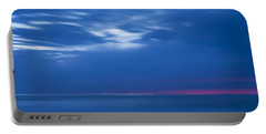 An Icy Blue Sea At Dawn Portable Battery Charger
