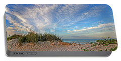 An Invitation - Florida Seascape Portable Battery Charger by HH Photography of Florida