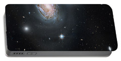 Portable Battery Charger featuring the photograph An Island Universe In The Coma Cluster by Nasa