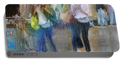 Portable Battery Charger featuring the photograph An Odd Sharp Shower by LemonArt Photography