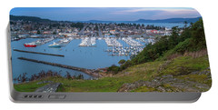 Anacortes Peaceful Morning Portable Battery Charger by Ken Stanback