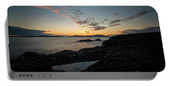 Anacortes Tidepool Sky Window Portable Battery Charger by Mike Reid