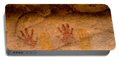 Anasazi Painted Handprints - Utah Portable Battery Charger