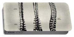 Anatomical Spine Medical Art Portable Battery Charger