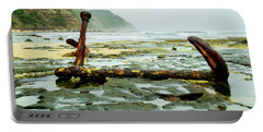 Portable Battery Charger featuring the photograph Anchor At Rest by Angela DeFrias
