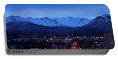 Anchorage At Sunrise Portable Battery Charger