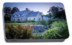 Portable Battery Charger featuring the photograph Ancienne Maison Bordeleau by Chris Bordeleau